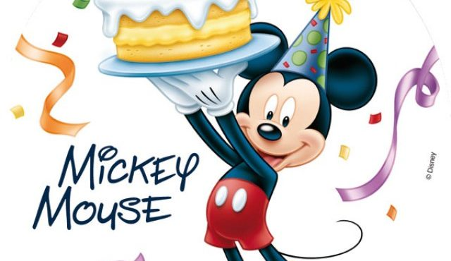 'Micky mouse' birthday celebration