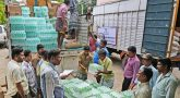 Gaja relief materials sent in various districts