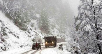 Heavy snowfall in Europe countries