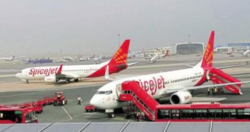 Two Spicejet flight canceled Today