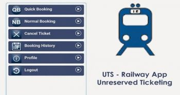 Buy unreserved ticket through UTS App