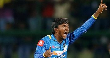 Srilankan bowler Banned for illegal action