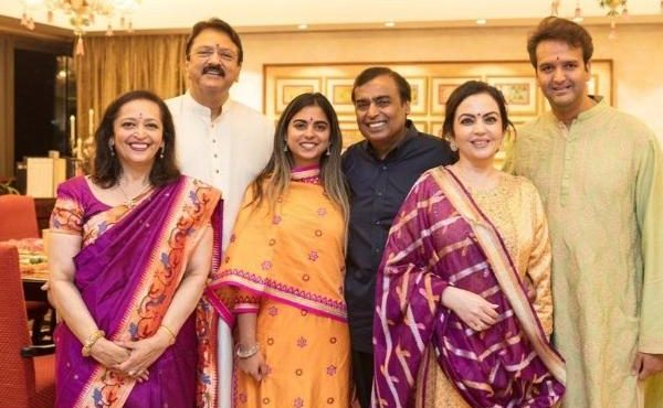 Ambani daughter celebrates grand Reception