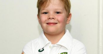 7 year old boy Added in Test match