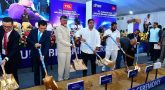 Chandrababu Naidu laid Foundation for TCL company