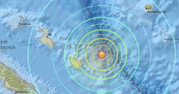 Earthquake affected in Easter Island