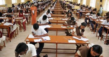 Annual year exams started for 1st to 9th class