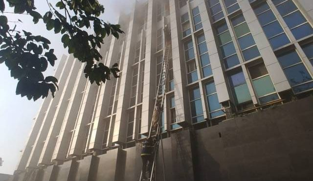 Fire broke out in Andheri hospital
