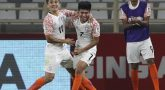 UAE beat india in Asian cup football