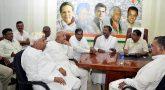 Congress meeting in karnataka