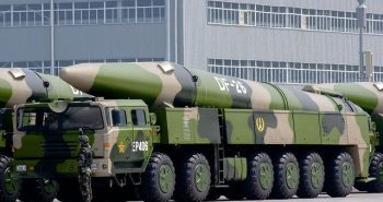 China launched DF 26 missile