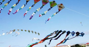 Gujarat people celebrates Kite festival