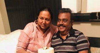 DMDK leader celebrates wedding anniversary