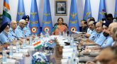 Defence Minister hold meeting with three chiefs