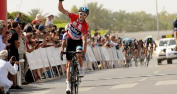 Bicycle race in Oman