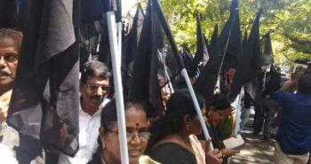 MDMK secretary said show black flag against modi