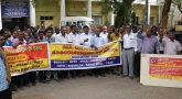 BSNL employees strike on Second Day