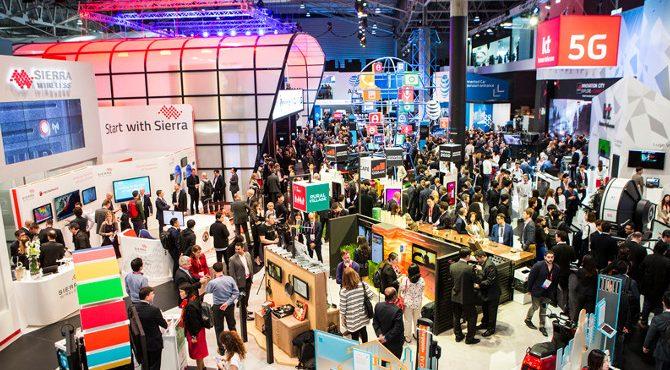 Mobile world congress in Barcelona