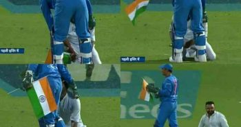 Ind vs NZ match: MS Dhoni wins heart moment