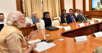 PM arranged Cabinet meeting in New Delhi