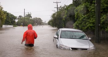Flood affected in Australia's Queensland