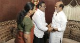 Superstar met DMDK leader Vijayakanth