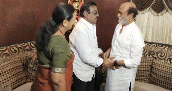 Superstar met DMDK leader Vijayakanth