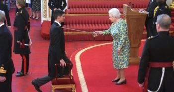 Former England player receives Knighthood