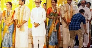 Soundarya-Vishagan's wedding day