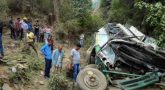 Six people killed in bus accident