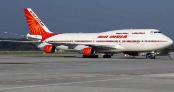 Air India returns Modi printed flight Ticket