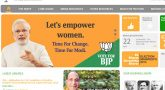 BJP website Hacked Today?