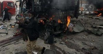 Bomb explosion in Jammu kashmir bus stand