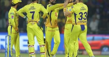 CSK won the match by 6 wickets