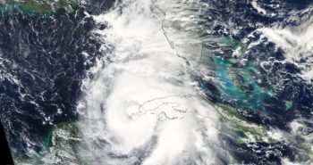 Cyclone affected in Alabama state of US