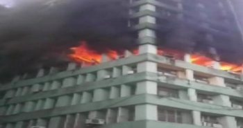 Fire broke out in Antyodaya Bhawan Delhi