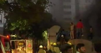 Fire broke out in Delhi's AIIMS hospital