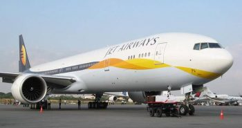 Jet Airways reduces Flight services to 5