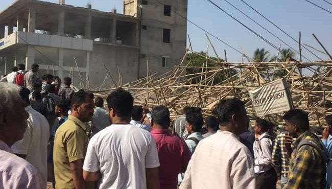 Building collapsed at Karnataka: death increased 5