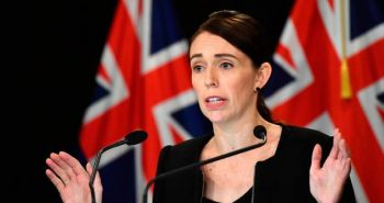 New Zealand Prime Minister banned semi-automatic weapons