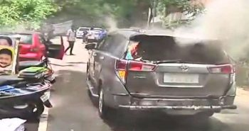 Petrol bomb hurled at DMK leader house