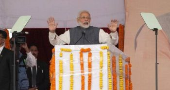 PM lays foundation stone for various projects in Kalaburagi