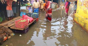 South districts of Tamilnadu received rainfall Today