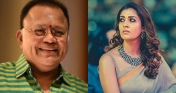 Controversial speech; Radharavi suspended