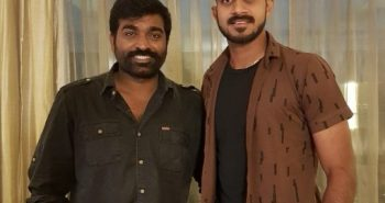 TN cricket player met Actor Vijay Sethupathi