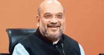 AmitShah addresses public meeting in Karnataka