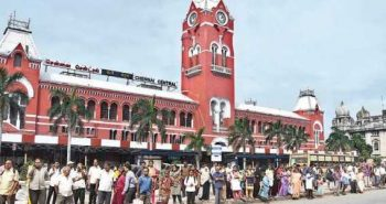 Central Railway Station name changed by TN gov