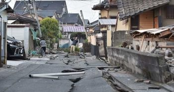 Powerful earthquake attacked in Japan