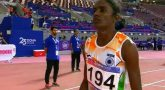 India won first gold medal in Asian Athletics