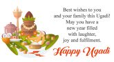 Happy Ugadi, May this Ugadi be as bright